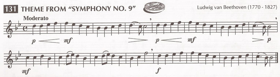 Line 131 Theme From Quot Symphony No 9 Quot Guy B Brown Music