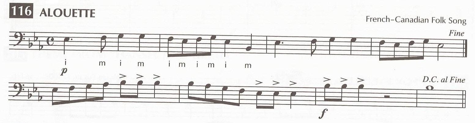 Line 116 Alouette - Guy B  Brown Music